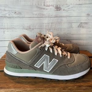 New Balance 574 Gray Women's Shoes Size 9.5
